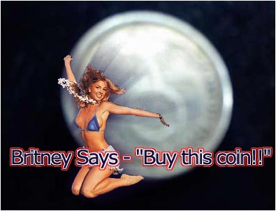 Britney Spears Selling That German Coin