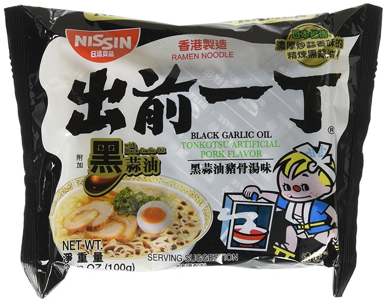 Nissin Demae Black Garlic Oil Instant Ramen