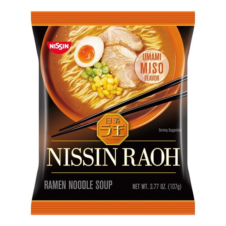 Nissin RAOH Ramen Noodle Soup