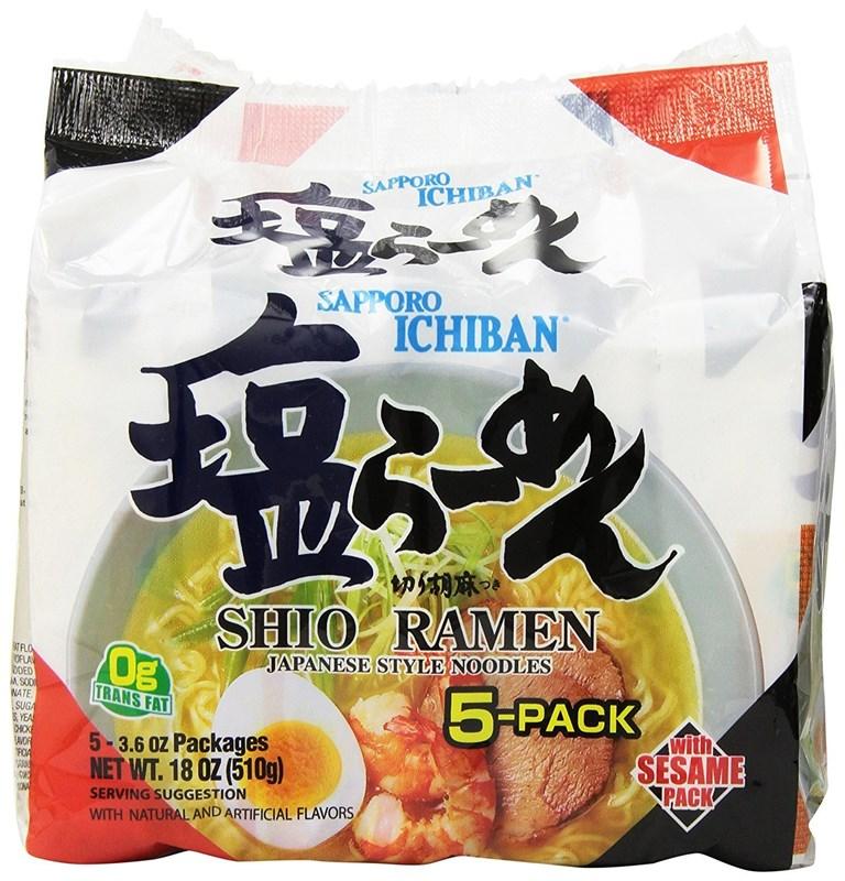 Sapporo Ichiban Shio Ramen