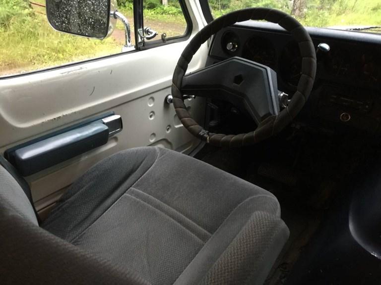 The Van: The Seat