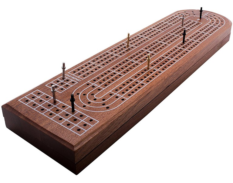 GrowUpSmart Premium Cribbage Board