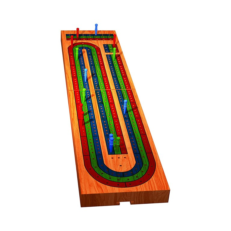 TCG Toys cribbage board