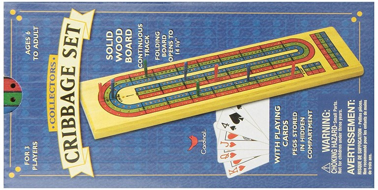 Cardinal Collectors Cribbage Set