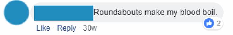 Roundabouts make my blood boil